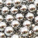 500 Stahlrundkugeln 8 mm Edelstahl für Steinschleuder