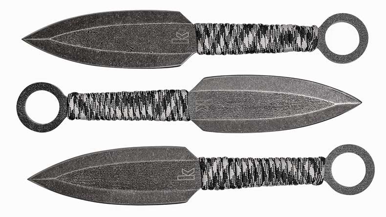 kershaw wurfmesser